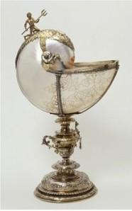 Nautilus goblet, Nicolaas van der Kemp, 1613/4, V&A